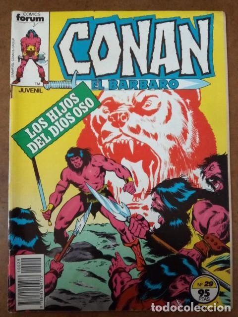 CONAN EL BARBARO Nº 29 PROCEDE DE RETAPADO - FORUM - SUB02 (Tebeos y Comics - Forum - Retapados)