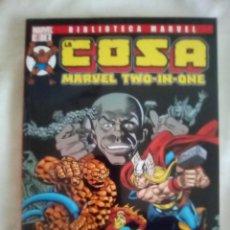Cómics: MARWEL TWO IN ONE: LA COSA. Lote 183422195