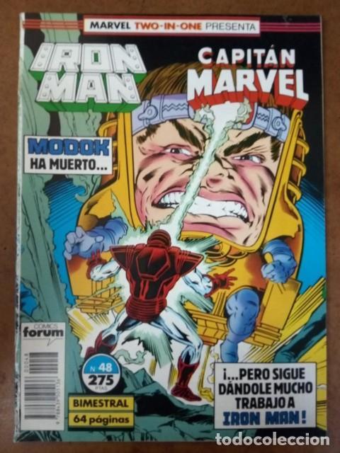 IRON MAN VOL. 1 Nº 48 PROCEDE DE RETAPADO - FORUM - OFM15 (Tebeos y Comics - Forum - Retapados)