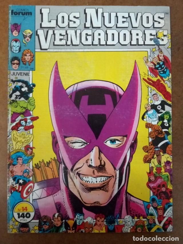LOS NUEVOS VENGADORES Nº 14 PROCEDE DE RETAPADO - FORUM - SUB02 (Tebeos y Comics - Forum - Retapados)
