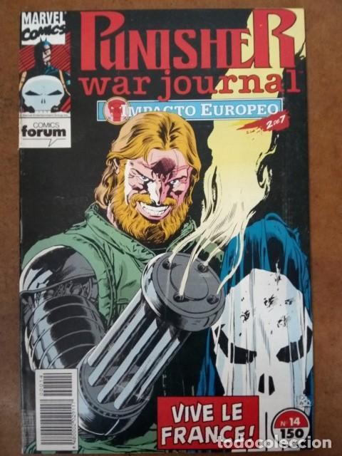 PUNISHER WAR JOURNAL Nº 14 PROCEDE DE RETAPADO - FORUM - SUB02 (Tebeos y Comics - Forum - Retapados)