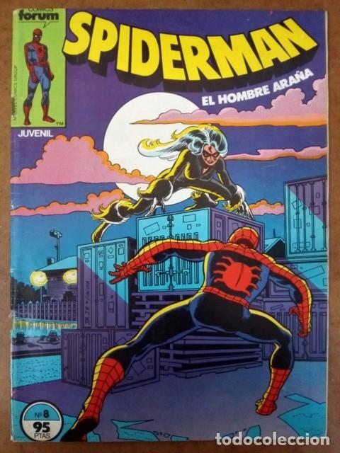 SPIDERMAN VOL. 1 Nº 8 PROCEDE DE RETAPADO - FORUM - SUB02 (Tebeos y Comics - Forum - Retapados)