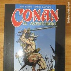 Cómics: COMIC CONAN EL AVENTURERO FORUM 1998 TAPA BLANDA NUEVO ROY THOMAS RAFAEL KAYANAN. Lote 183435796
