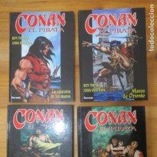 Cómics: COMICS CONAN EL PIRATA COLECCIÓN COMPLETA TAPA DURA FORUM 1999 NUEVOS ROY THOMAS JOHN BUSCEMA. Lote 183436185