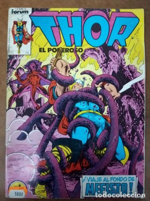 THOR VOL. 1 Nº 5 PROCEDE DE RETAPADO - FORUM - OFM15 (Tebeos y Comics - Forum - Retapados)