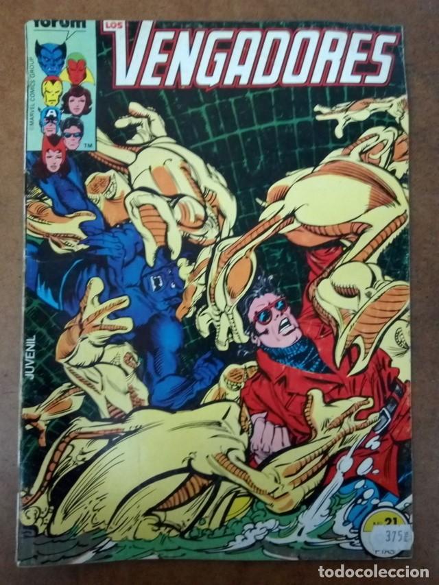 VENGADORES VOL. 1 Nº 21 PROCEDE DE RETAPADO - FORUM - OFM15 (Tebeos y Comics - Forum - Retapados)