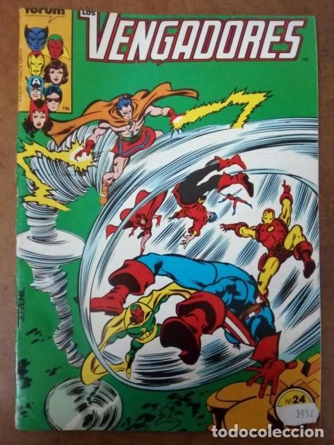 VENGADORES VOL. 1 Nº 24 PROCEDE DE RETAPADO - FORUM - OFM15 (Tebeos y Comics - Forum - Retapados)