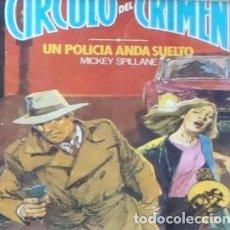 Cómics: NOVELA CIRCULO DEL CRIMEN FORUM-3 NUEVO-1983 MICKEY SPILLANE SUSPENSE MISTERIO. Lote 183456666