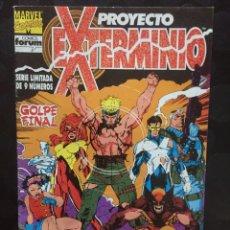 Cómics: PROYECTO EXTERMINIO FACTOR X N.9 . GOLPE FINAL . ( 1992 ) .. Lote 183465932