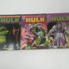 Cómics: HULK. BIBLIOTECA MARVEL. 1, 2 Y 3. Lote 183478615