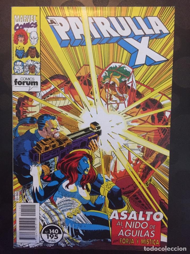 LA PATRULLA X VOL.1 N.140 . ASALTO AL NIDO DE AGUILAS . ( 1985/1995 ) . (Tebeos y Comics - Forum - Patrulla X)