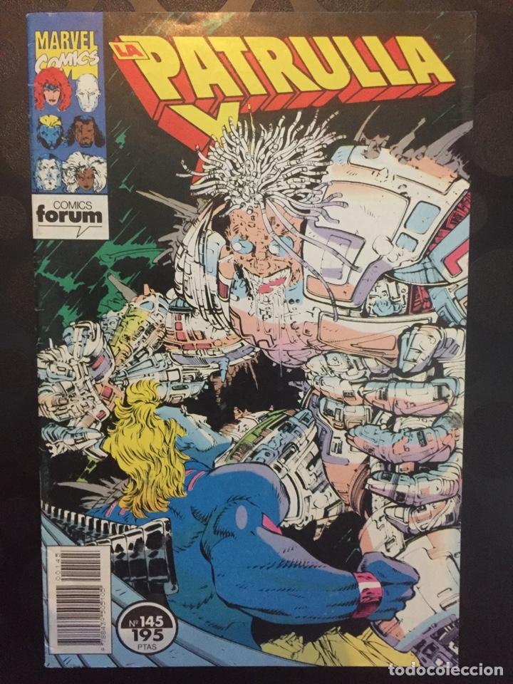 LA PATRULLA X VOL.1 N.145 . RESTOS MORTALES . ( 1985/1995 ) . (Tebeos y Comics - Forum - Patrulla X)