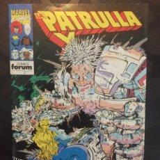 Cómics: LA PATRULLA X VOL.1 N.145 . RESTOS MORTALES . ( 1985/1995 ) .. Lote 183489202