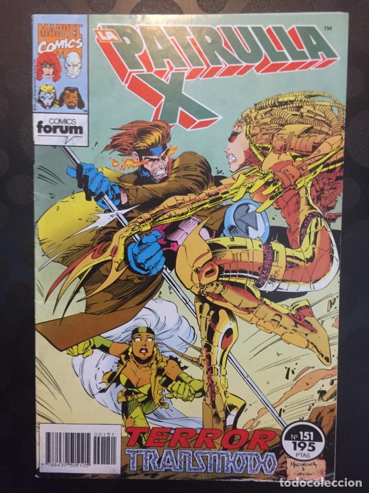 LA PATRULLA X VOL.1 N.151 . TERROR TRANSMODO . ( 1985/1995 ) . (Tebeos y Comics - Forum - Patrulla X)