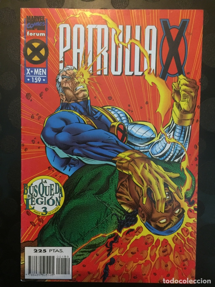 LA PATRULLA X VOL.1 N.159 . LA BÚSQUEDA DE LEGIÓN . ( 1985/1995 ) . (Tebeos y Comics - Forum - Patrulla X)
