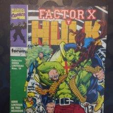 Cómics: FACTOR X Y HULK N.2 . X CALADA . COLECCIÓN SERIES LIMITADAS . ( 1993 ) .. Lote 183491445