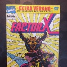 Cómics: FACTOR X EXTRA VERANO 1992 LOS REYES DEL DOLOR PARTE 4 .. Lote 183548916
