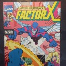Cómics: FACTOR X VOL.1 N.38 . LA GUERRA DEL JUICIO . ( 1988/1995 ) .. Lote 183550033