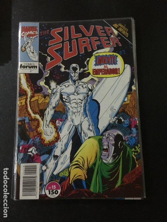 FORUM SILVER SURFER NUMERO 15 BUEN ESTADO (Tebeos y Comics - Forum - Otros Forum)