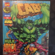 Cómics: CABLE VOL.2 N.14 . ONSLAUGHT . HULK ATACA . ( 1996/2000 ) .. Lote 183574278