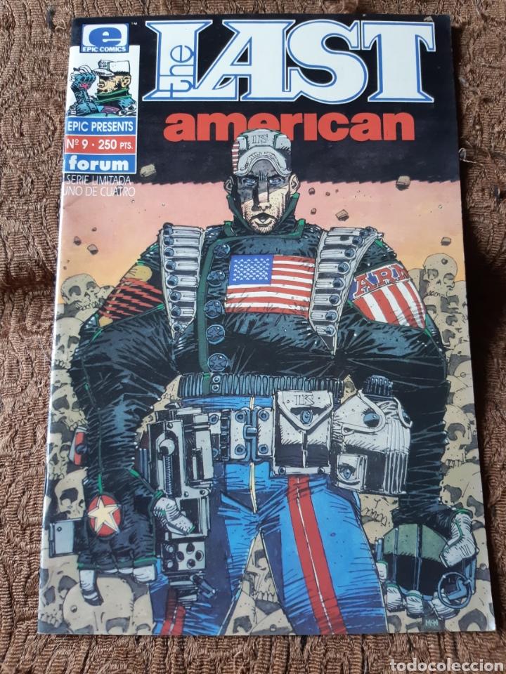 TEBEOS-CÓMICS CANDY - THE LAST AMERICAN 9 - FORUM- AA98 (Tebeos y Comics - Forum - Otros Forum)