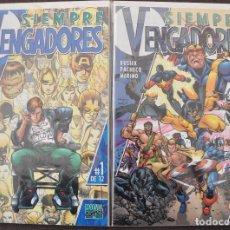 Cómics: SIEMPRE VENGADORES COMPLETA. Lote 183604490