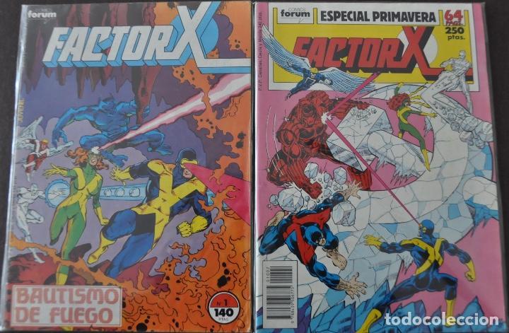 FACTOR X VOL1 COMPLETA 94 Nº+7 ESPECIALES (Tebeos y Comics - Forum - Factor X)