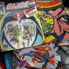 Cómics: 2 COMICS SPIDERMAN Y 1 DE GIJOE HEROE AMERICANO.. Lote 183614655