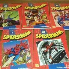Cómics: LOTE DE 5 TOMOS SPIDERMAN. Lote 183631528
