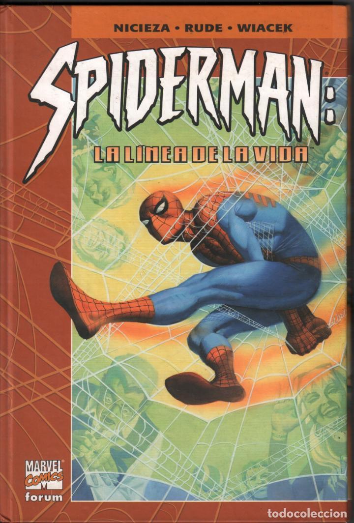 SPIDERMAN LA LINEA DE LA VIDA MARVEL COMICS FORUM DE 2002/ COMIC-79 , BUEN ESTADO (Tebeos y Comics - Forum - Spiderman)
