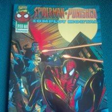 Cómics: SPIDERMAN PUNISHER - COMPLOT MORTAL # Y4. Lote 183663026