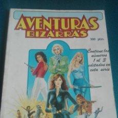 Cómics: AVENTURAS BIZARRAS 1-2-3 # Y3. Lote 183671947