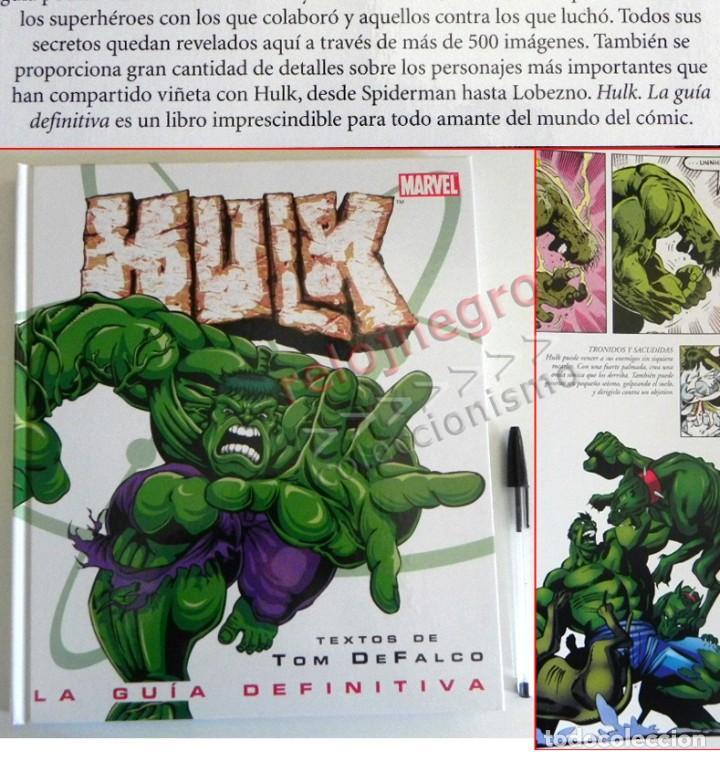HULK GUÍA DEFINITIVA TOM DEFALCO LIBRO SOBRE LA MASA PERSONAJE DE CÓMIC MARVEL SUPERHÉROE 500 IMÁGEN (Tebeos y Comics - Forum - Hulk)