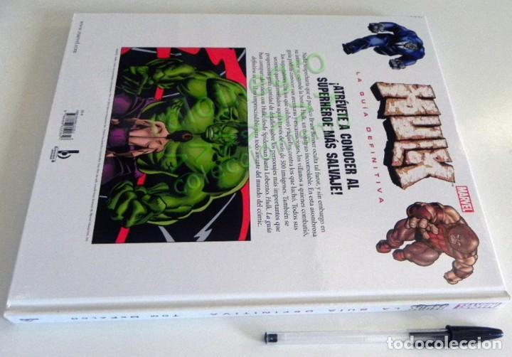 Cómics: HULK GUÍA DEFINITIVA TOM DEFALCO LIBRO SOBRE LA MASA PERSONAJE DE CÓMIC MARVEL SUPERHÉROE 500 IMÁGEN - Foto 11 - 183700547