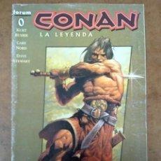 Cómics: CONAN LA LEYENDA Nº 0 - FORUM - SUB02. Lote 183799006