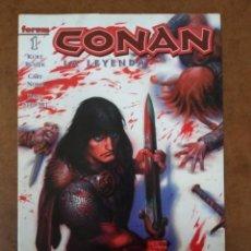 Cómics: CONAN LA LEYENDA Nº 1 - FORUM - SUB02. Lote 183799057