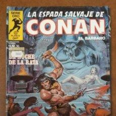Cómics: LA ESPADA SALVAJE DE CONAN VOL. 1 1ª EDICION Nº 36 - FORUM - SUB02. Lote 183799890