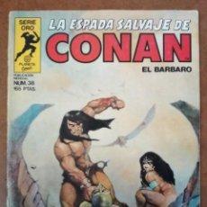 Cómics: LA ESPADA SALVAJE DE CONAN VOL. 1 1ª EDICION Nº 38 - FORUM - SUB02. Lote 183800038