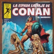 Cómics: LA ESPADA SALVAJE DE CONAN VOL. 1 1ª EDICION Nº 45 - FORUM - SUB02. Lote 183800117
