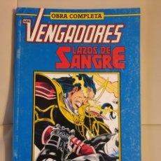 Comics : LOS VENGADORES LAZOS DE SANGRE. Lote 183814090