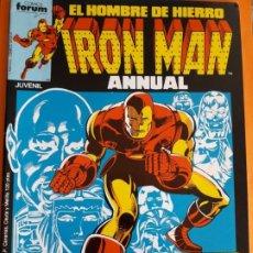 Cómics: EL HOMBRE DE HIERRO N-22 ANNUAL AÑO 1986 MUY BUEN ESTADO. Lote 183852990