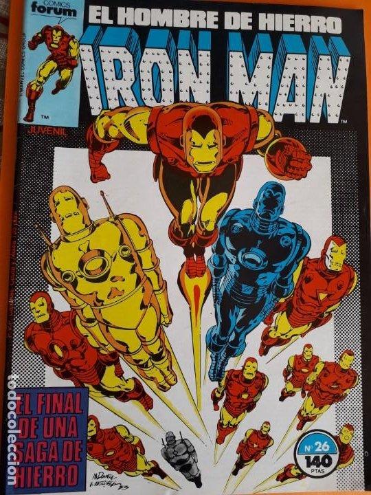 HOMBRE DE HIERRO N-26 (Tebeos y Comics - Forum - Iron Man)
