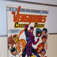 Cómics: LOS VENGADORES COSTA OESTE Nº11 COLECCION EXTRA SUPER HEROES - FORUM . Lote 184041981