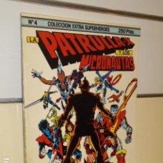 Cómics: LA PATRULLA X Y LOS MICRONAUTAS Nº4 COLECCION EXTRA SUPER HEROES - FORUM. Lote 184042638