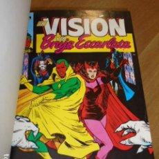 Cómics: LA VISION Y LA BRUJA ESCARLATA 14 Nº DEL 1 AL 14 ENCUADERNADOS EN UN TOMO LLEVAN PORTADAS - FORUM. Lote 184044402