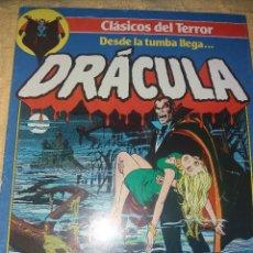 Cómics: CLASICOS DEL TERROR.DRACULA.NUMERO 1.COMICS FORUM-PLANETA 1988. Lote 184125812