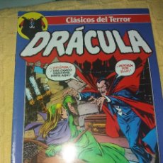 Cómics: CLASICOS DEL TERROR.DRACULA.NUMERO 2.COMICS FORUM-PLANETA 1988. Lote 184125871