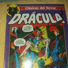 Cómics: CLASICOS DEL TERROR.DRACULA.NUMERO 4.COMICS FORUM-PLANETA 1988. Lote 184125978
