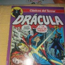 Cómics: CLASICOS DEL TERROR.DRACULA.NUMERO 8.COMICS FORUM-PLANETA 1988. Lote 184126061