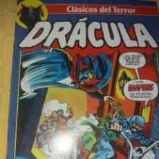 Cómics: CLASICOS DEL TERROR.DRACULA.NUMERO 10.COMICS FORUM-PLANETA 1988. Lote 184126245